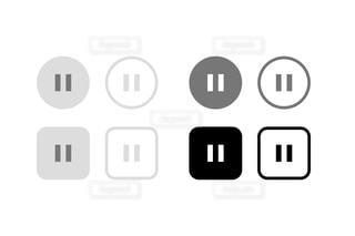 近くにロゴのアップの写真・画像素材[1426639]