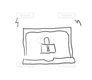 「セキュリティ関連」ゆるいイラストシリーズ。個人情報流出、ユーザーデータ漏洩、ハッキングなどサイバーセキュリティ、プライバシー保護、ウィルス対策など。その他へたくそイラストは「kt_draw」で検索を!の写真・画像素材[1590547]