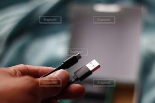 USBケーブルの写真・画像素材[1758275]