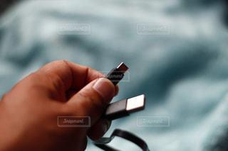 USBケーブルの写真・画像素材[1758277]