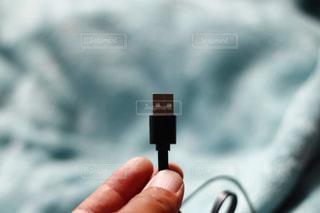 USBケーブルの写真・画像素材[1758279]