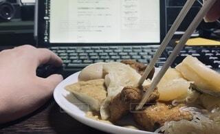 食欲の秋。おでんと仕事とニューノーマルな日常の写真・画像素材[3696006]