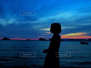 #朝焼け#瀬戸内海#雲海#希望#海#空の写真・画像素材[607589]