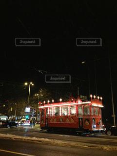 夜はライトアップ鉄道 - No.844074