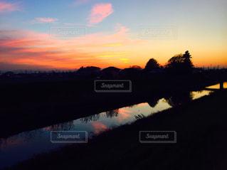 夕日の写真・画像素材[262344]
