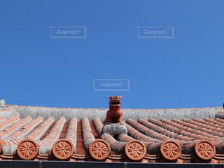 建物の屋根の写真・画像素材[3208729]