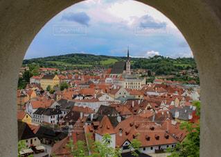 城壁からの景色の写真・画像素材[1207091]