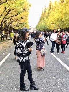 通りを歩く人々 のグループの写真・画像素材[1657766]