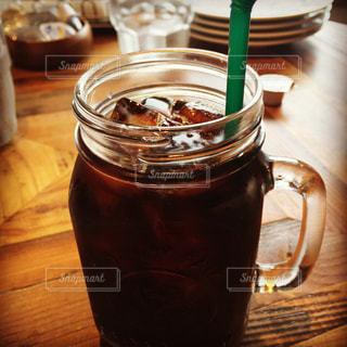 アイスコーヒーの写真・画像素材[266755]