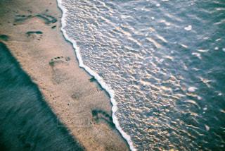 海の横にある水します。の写真・画像素材[1824737]