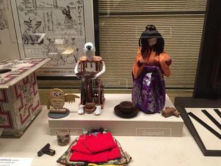 上野の国立科学博物館に展示されているからくり人形の写真・画像素材[1609085]