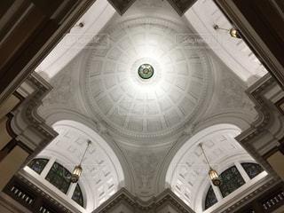 上野の国立科学博物館の天井の写真・画像素材[1609093]