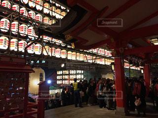 新宿の花園神社の酉の市の写真・画像素材[1628092]