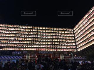 新宿の花園神社の酉の市の提灯の写真・画像素材[1628095]