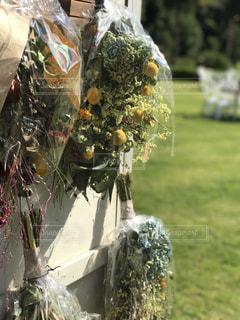 木の花の花瓶の写真・画像素材[758482]