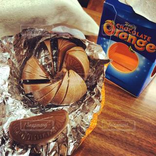 オレンジ型チョコレート - No.848058