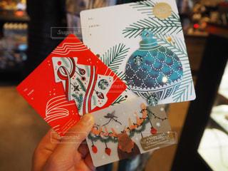 アメリカ限定スタバのクリスマスカード - No.885492