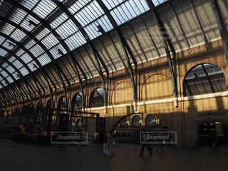 近くに鉄道駅のの写真・画像素材[1315478]