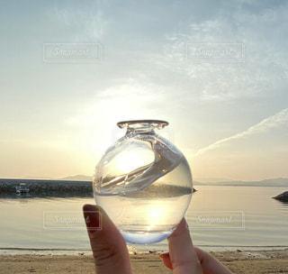 海とガラスの写真・画像素材[3602398]