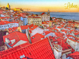 ジブリの世界…ポルトガルのリスボンの写真・画像素材[863870]