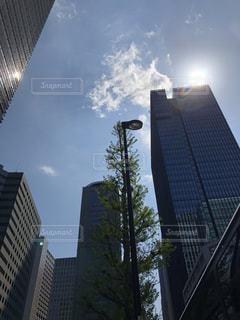都市の高層ビルの写真・画像素材[1121205]