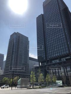 都市の高層ビルの写真・画像素材[1121207]