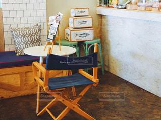 お洒落な椅子💺の写真・画像素材[731419]