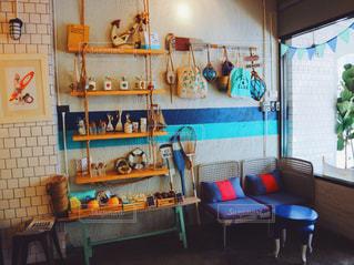 おしゃれすぎるカフェの一角☕️の写真・画像素材[731420]