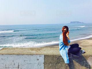 春の海の写真・画像素材[1120972]