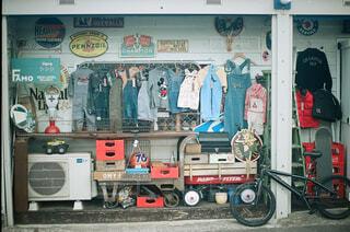 アメリカンな洋服屋さんの写真・画像素材[4276576]