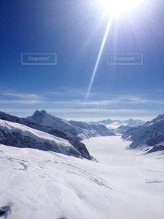 スイスの雪山 - No.879399