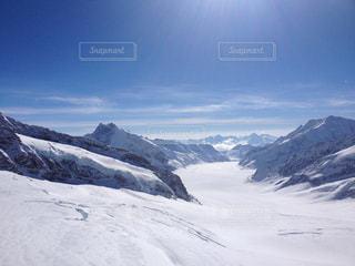 スイスの雪山 - No.879400