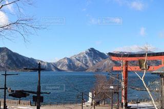 日光の中禅寺湖の写真・画像素材[2924314]