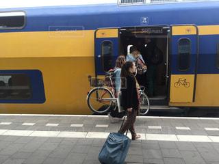 電車の写真・画像素材[272139]