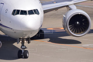 大型の旅客機の写真・画像素材[1178957]