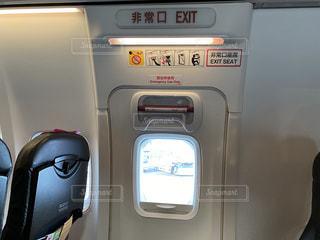 非常口座席の写真・画像素材[3042374]