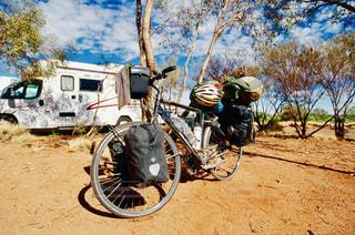 旅の自転車の写真・画像素材[336310]