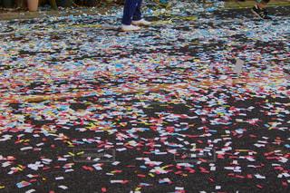 祭りの後の写真・画像素材[275845]