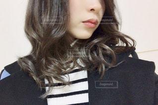 巻き髪の写真・画像素材[1718761]