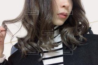 巻き髪の写真・画像素材[1718764]
