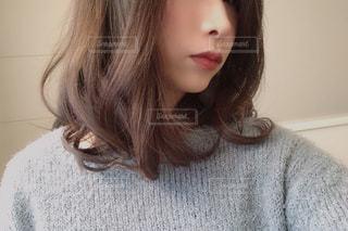 巻き髪の写真・画像素材[1718765]