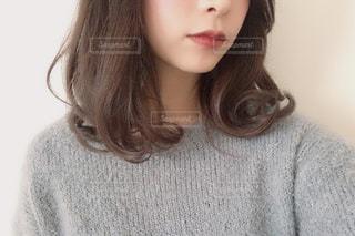 巻き髪の写真・画像素材[1718767]