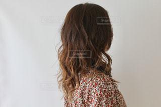 巻き髪の写真・画像素材[2189153]