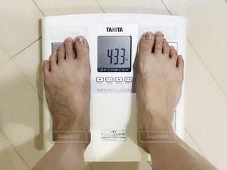 体重計の写真・画像素材[2235393]