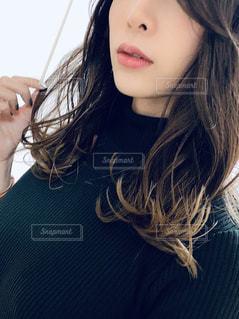 巻き髪の写真・画像素材[2797039]