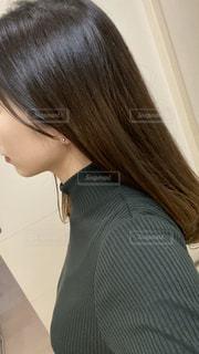 ストレートヘアの写真・画像素材[2797053]