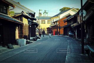 昔の街並みの写真・画像素材[303243]