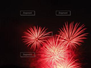 空に花火の写真・画像素材[1413772]
