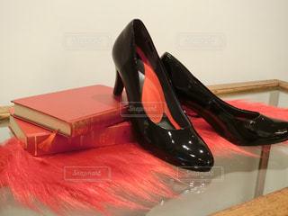 黒い靴のペアの写真・画像素材[724168]