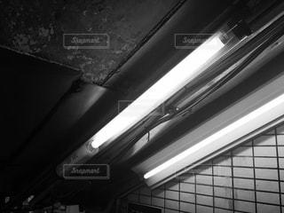 駅の電気の写真・画像素材[730113]